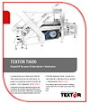 Textor Slicing Technology TI600 brochure italian download