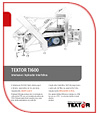 Textor Slicing Technology TI600 brochure portuguese download