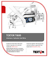 Textor Slicing Technology TI600 brochure spanish download